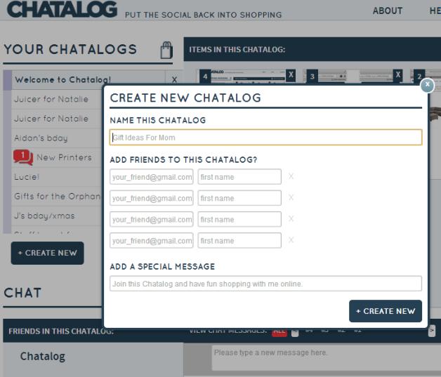 Create.Chatalog.Blog